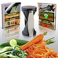 Affetta-frutta e affetta-verdure Acciaio inossidabile / Plastica ,