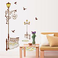 adesivos de parede do estilo decalques de parede Wall Street cor da lâmpada pvc adesivos