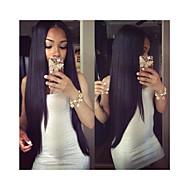 """pieno merletto dei capelli umani parrucche glueless densità 120% 10 """"-30"""" peruviani vergini del merletto dei capelli parrucche anteriori"""