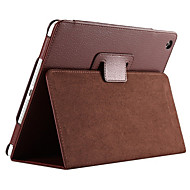 Solid Color Full Body PU Leather Case with Stand for iPad 4 3 2