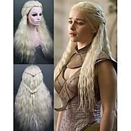 cosplay peluca de juego de tronos Daenerys inspiró la moda cosplay partido atractivo de la peluca sintética del pelo / pelucas de la