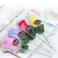 Beautiful Rose Towel (Set of 4)(Color Random)