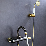 Shower Faucet Antique Handshower Included Brass Oil-rubbed Bronze