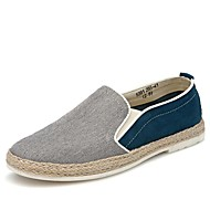 Men's Shoes Office & Career/Party & Evening/Athletic/Casual Canvas Loafers Blue/Gray