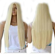 mode blond langt lige syntetisk Perruque lolita anime Peruca harajuku hår parykker sex produkter billige cosplay paryk