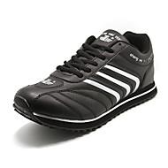 Sportovní boty - Černá / Modrá - Pánské boty - Atletika - Koženka