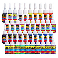 Solong Tattoo Ink 40 Colors Set 5ml/Bottle Tattoo Pigment Kit