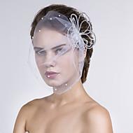 Mulheres Rede Capacete-Casamento Ocasião Especial Casual Véus de Rede 1 Peça