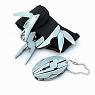 Fashion Stainless Steel Plier/Knives/Key Ring Folding Multitools Camping/Outdoor