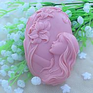 molde sabão molde país das fadas bonito bolo de chocolate fundido silicone, ferramentas de decoração bakeware