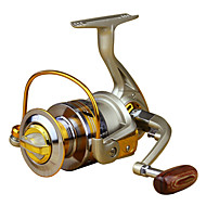 Spinning Reel / Role za ribolov Smékací navíjáky 5.5:1 10 Kuličková ložiska LevorukýMořský rybolov / Muškaření / Bait Casting / Rybaření