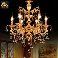 샹들리에 ,  컴템포러리 / 모던 일렉트로플레이티드 특색 for 크리스탈 LED 금속 거실 침실 주방