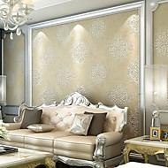New Rainbow™ Wallpaper European Style 3D Damascus Art Deco Wall Covering , Art Deco Non-woven Paper