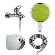 Handheld Shower All Copper Cold Hot Tap Mix Water Valve Simple Flower Is Aspersed Four Suits