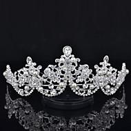 Bergkristal Vrouwen Helm Bruiloft/Speciale gelegenheden Tiara's Bruiloft/Speciale gelegenheden 1 Stuk