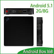 TV Box Android 5.1 RK3368 64bits Octa core Cortex A53 2GB+8GB Media Player HDMI Multi Language Android 5.1 TV Box