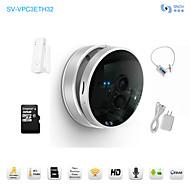 무선 도어 센서, 32 기가 바이트 TF 카드, HD 아기 모니터, P2P, 안드로이드 앱 snov 무선 랜 IP IR 감시 카메라&IOS