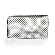 Handbag Satin/Silk/Metal Evening Handbags/Clutches/Wallets & Accessories With Crystal/ Rhinestone/Metal
