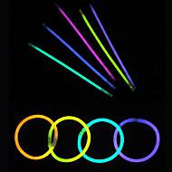 100st gloed licht sticks partij gekleurde glowstick fluorescentie ringen