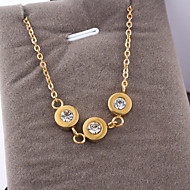 Women's Fashion Stainless Steel Necklace with Chain
