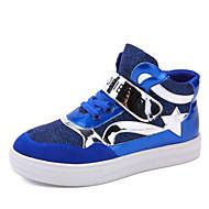 BOY - Comfort/Ronde neus/Dichte neus - Modieuze sneakers ( Zwart/Blauw