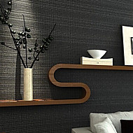 New Rainbow™  Contemporary Wallpaper Art Deco Plain Coloured Plaid Wallpaper Wall Covering Non-woven Fabric Wall Art