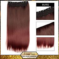 ombre leikkeen suorat hiukset pidennys synteettinen hiuslisäke Burg