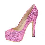 women's  sexy high heels platform  Pumps Pink Weding Shoes