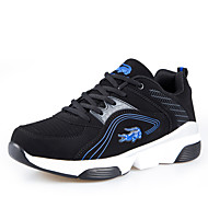 Men's Shoes Casual/Outdoor/Runing Fashion Suede Leather Shoes Black red/Black bule/Black Green