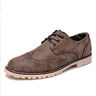 Men's Shoes Casual Oxfords Blue/Brown/Gray
