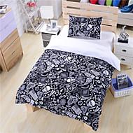 Black And White Bedding Paisley American Flag Bedding Skull Bedding Duvet Cover Set