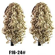 senhoras da forma de comércio garra grampo de cabelo de rabo de cavalo f16-24 # cor da UE