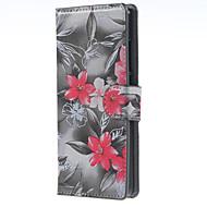 フルボディ 財布 / カードホルダー フラワー PUレザー 硬 ケースカバーについて HuaweiHuawei社P9 / Huawei社P9ライト / Huawei社P8 / Huawei P8 Lite / Huawei Y560 / Huawei Y6/Honor 4A