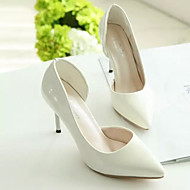 Women's Shoes Faux Leather Stiletto Heel Heels/Novelty/Pointed Toe/Closed Toe Pumps/Heels Party & Evening/Dress/Casual