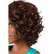 Europe And American Popular Style Ms Black Small Volume Short Hair Brown