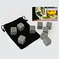 9 ks / Lot whisky kameny skalní kostky ledu mastek nápoj mrazák