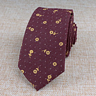 עניבות - תבנית (בורדו , כותנה)