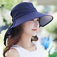 Women Vintage/Casual Foldable Summer Canvas Floppy Hat Sun Visor Hats