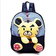 Unisex's New Kindergarten Cute Plush Three-dimensional Cartoon Bag