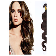 Grade 5A 1pc/Lot 20Inch/50cm multicolors wavy Fusion /U Tip Hair Extension Human Hair weaves 1g/s