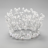 Women's/Flower Girl's Crystal/Alloy/Imitation Pearl Headpiece - Wedding/Special Occasion Tiaras 1 Piece