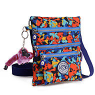 Women Lady Waterproof Shoulder Bag Nylon Zipper Messenger Bag Mini Bag
