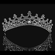 왕관 여성 웨딩 라인석/합금 투구 웨딩 1개