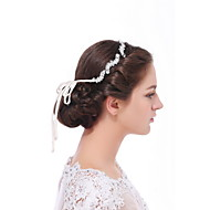 Women's Satin / Sterling Silver / Alloy Headpiece - Wedding / Special Occasion / Casual Headbands 1 Piece