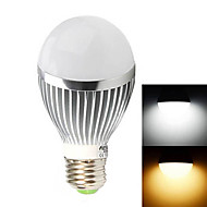 HESION® HS01005A E27 5W 520LM 3500K/6000K  Warm White/Cool White Light Lamp - Silver(85~265V)
