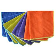 sinland microfiber damning handduk tvätta bilrekonditionering bil rengöringsdukar 4 färger 14 inchx14 tum pack 8