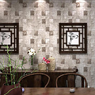Кирпич Обои Для дома Современный Облицовка стен , ПВХ/винил материал Клей требуется обои , номер Wallcovering