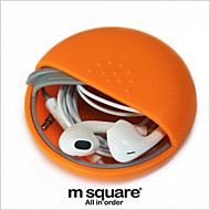 Multi-Purpose Storage Box Candy Color Portable Headset Kit Creative Coins Include Covered
