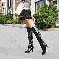 Women's Shoes Leatherette Stiletto Heel Heels / Platform / Office & Career / Casual Black / Red / White