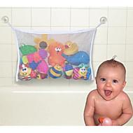 שקית אחסון צעצועי אמבטיה חדר מקלחת (צבע אקראי)